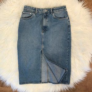Zara Authentic Denim by Trafaluc Denim Mom Skirt M